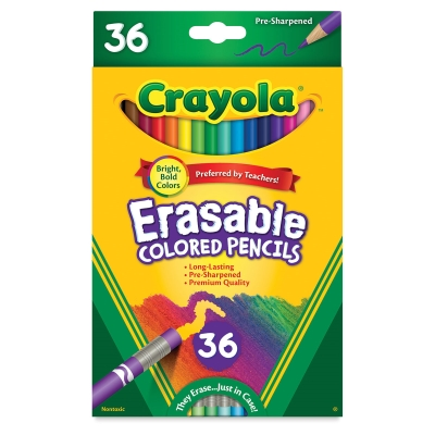 Erasable Colored Pencils, Set of 36