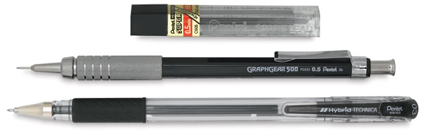 Drawing Pack Bonus Set<br>0.3 mm Pen and 0.5 mm Pencil