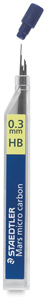 0.3 mm, HB Lead Refills, Pkg of 12