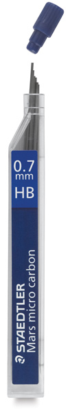 0.7 mm, HB Lead Refills, Pkg of 12