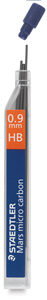 0.9 mm, HB Lead Refills, Pkg of 12