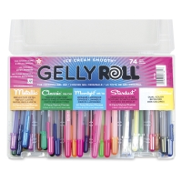 Assorted Colors, Set of 74