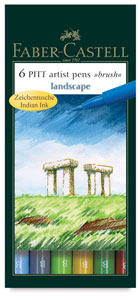 Landscape Colors, Set of 6