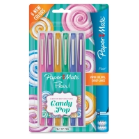 Candy Pop Colors, Medium Tip, Set of 6