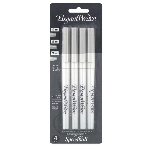 Calligraphy Markers, Set of 4