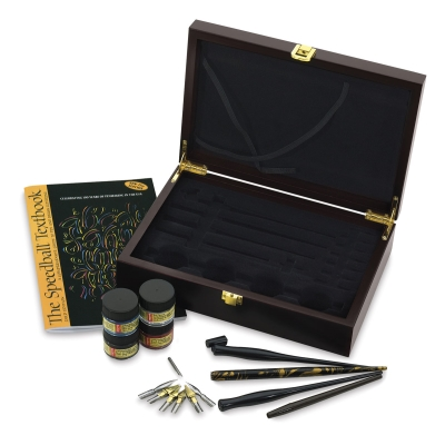 Speedball Deluxe Calligraphy Set Blick Art Materials