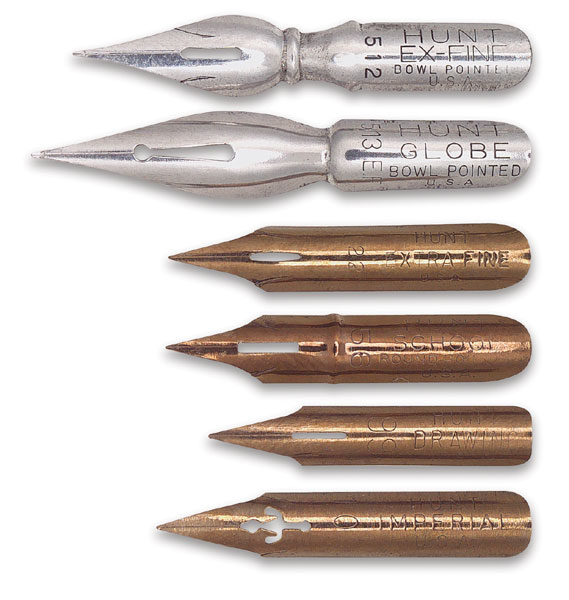 Speedball standard point dip pen nibs blick art materials Speedball calligraphy nibs