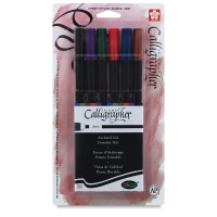 Set of 6, Assorted Colors, 3 mm