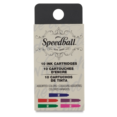 Refill Cartridges, Assorted Colors, Set of 10