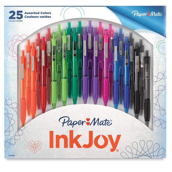 Assorted Colors, Pkg of 25