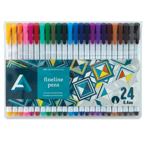 Fineline Pens, Set of 24