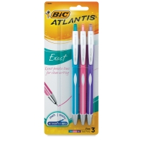 Exact Retractable Ball Pens, Set f 3
