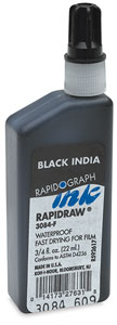 Rapidraw Black India Ink