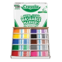Classpack of 200 Assorted Colors, Fine Line
