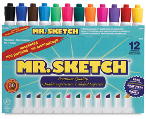 Unscented Markers, Set of 12
