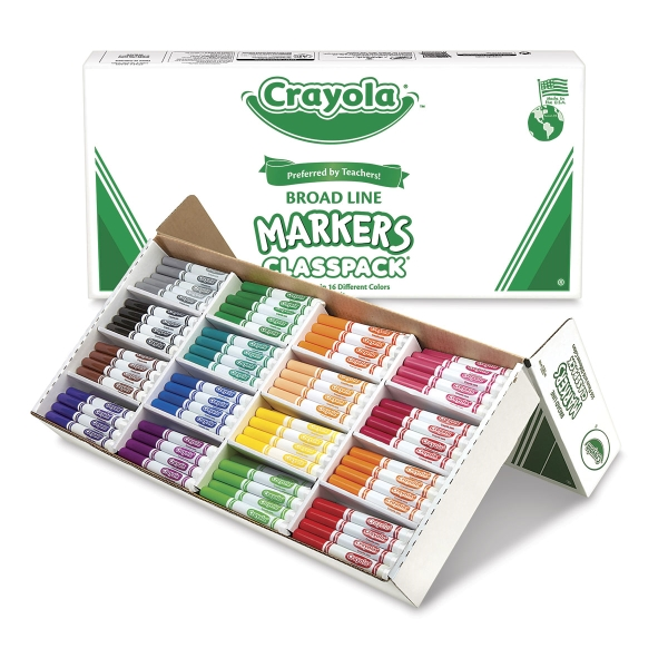 Classpack of 256 Markers