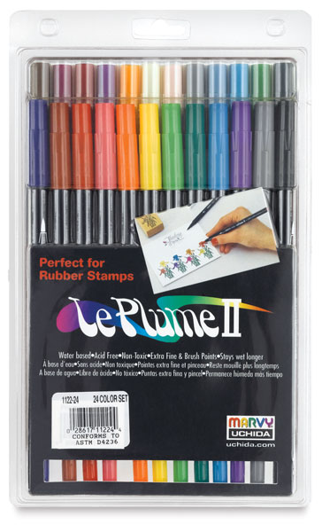 Set of 24 Markers, General Colors