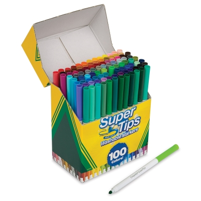Super Tips Washable Markers, Set of 100