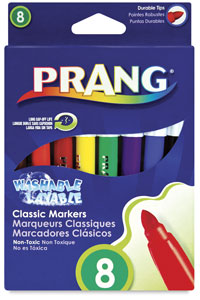 Washable Markers, Set of 8