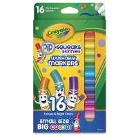 Pip-Squeaks Washable Markers, Skinnies, Set of 16