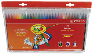 Power Markers, Wallet of 30 Colors