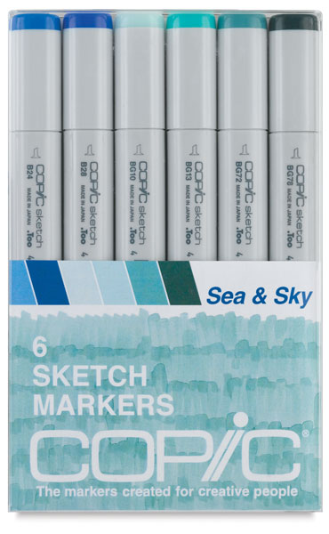 Sea & Sky, Set of 6
