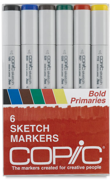 Bold Primaries, Set of 6