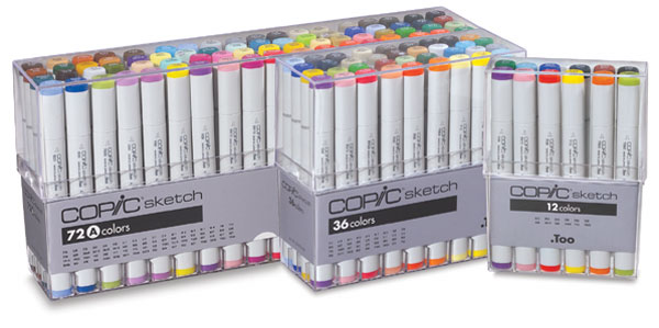 Copic Sketch Marker Sets