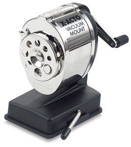 Vacuum Mount Pencil Sharpener