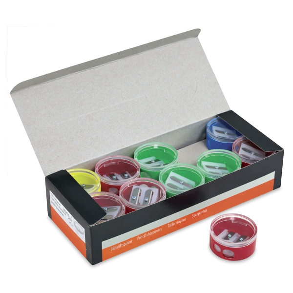 Two-Hole Sharpener Classroom Pack, Set of 20