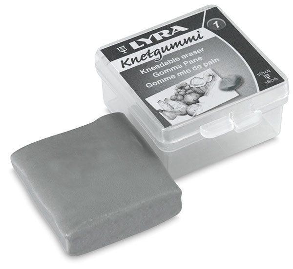 Kneadable Eraser with Storage Box