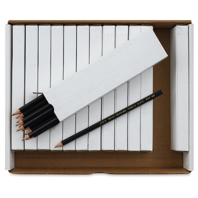 Solid Graphite Drawing Pencil Classroom Pack