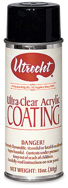 Ultra Clear Acrylic Spray Varnish