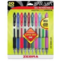 Zebra Sarasa Gel <nobr>Retractable Pen</nobr>