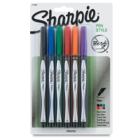 Sharpie Pen, Set of 6 Assorted Colors