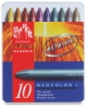Metallic Artist Crayons, Set of 10
