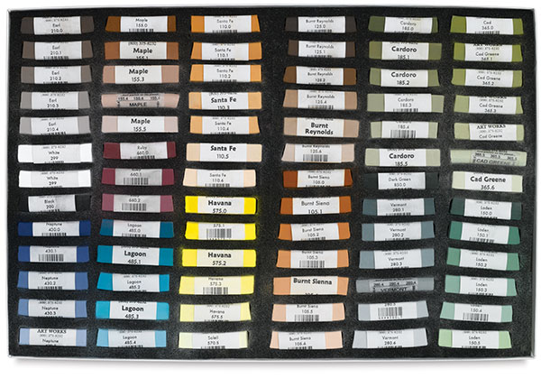 Set of 78, Daniel Greene Master Portrait Palette
