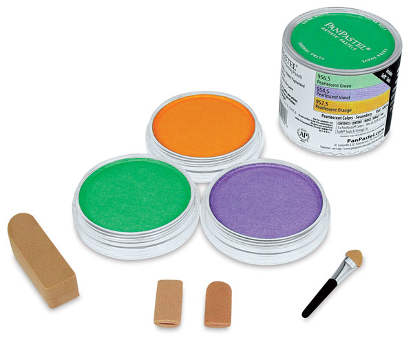 Pearlescent Secondary Colors, Set of 3
