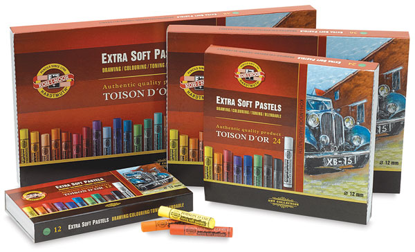 Toison D'or Extra Soft Pastel Sets