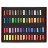 Artists' Pastel Half Stick Sets, Set of 60