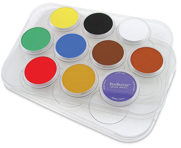 Palette Tray for 10 Colors (pastels not included)