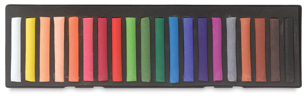 Set of 20 Pastels, Assorted Colors