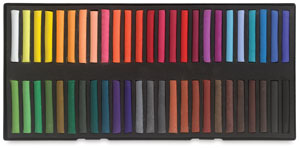 Set of 50 Pastels, Assorted Colors