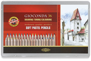 Soft Pastel Pencils, Set of 36