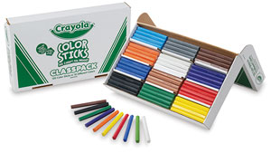 Color Sticks, Classpack of 120