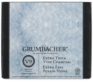 Vine Charcoal Jumbo Stick, Pkg of 25