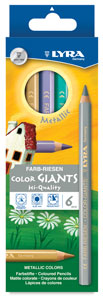 Color Giants, Set of 6 Metallic Colors
