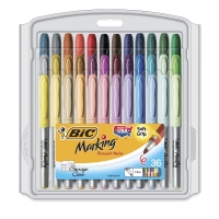 Assorted Colors, Set of 36, Fine
