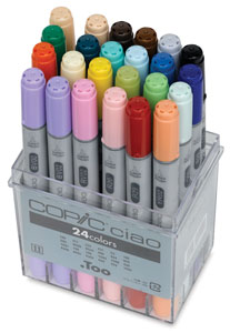Set of 24 Markers