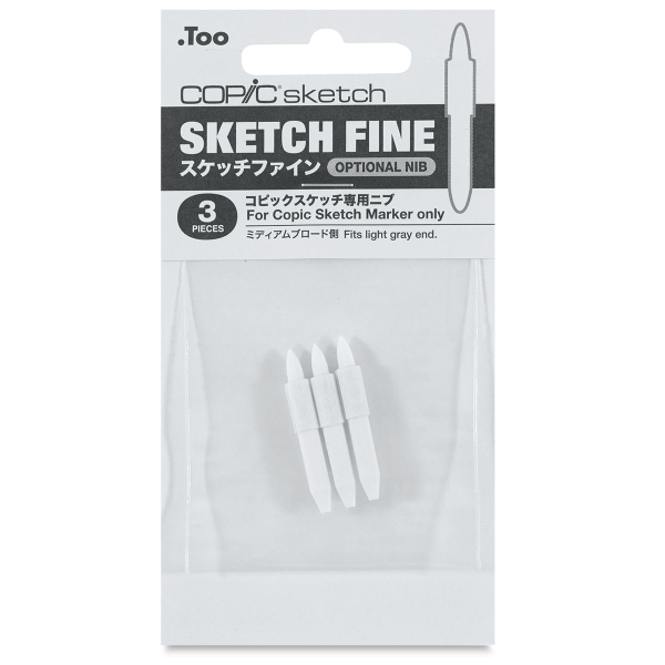 Sketch Replacement Nibs, Set of 3